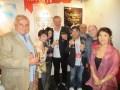 Nippon TV (Japón) vendió Women, su segundo formato guionado, en Turquía: Shigeko Cindy Chino (NTV) rodeada por Fatih Aksoy (Medyapim) y Faruk Bayhan (