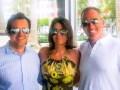 Marlon Quintero (CIC) junto a Carla Duarte y Miguel Somoza, de Sabbatical