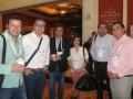 Francisco Jaramillo (VGL) con Gianfranco Dazzarola, Gonzalo Jara, Daniela Cartagena, Mauricio Rojo y Mario Sepulveda, de TVN