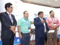 APTC 17 D2 Ing. Eduardo Rivero, Mauro Zamora, Demóstenes Terrores, Jorge Vargas en la Fiesta de la 9a. Cumbre APTC