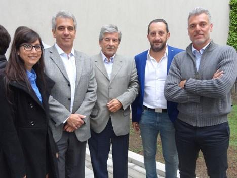 Cecilia Ferrini, de Viacom; Antonio Diéguez, socio y director de de Fantoche; Oscar Iriarte, director de la agencia CDF Argentina; Claudio Messina, ge