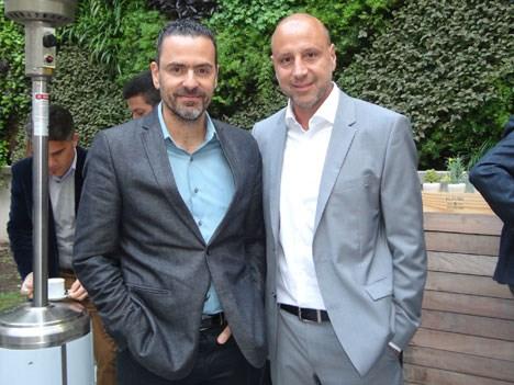 Patricio Greco, VP & gerente general Cono Sur de SC Johnson  y Sebastián Pierri, gerente general de Telecentro