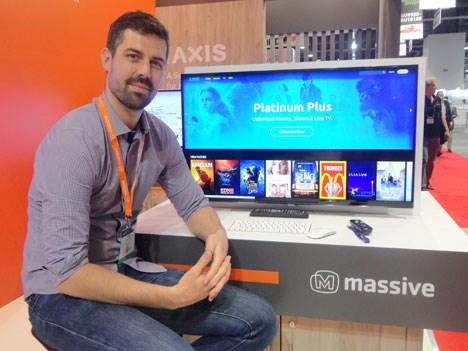 David Peek, director de ingeniería de soluciones en Massive