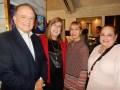 El Screenings de Lionsgate: Maryann Pasante, ventas para América Latina, con Alberto Niccoli Junior, SVP, Carolina Padula, directora de adquisiciones,