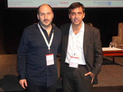 Juan Massuh y Sergio Silva, de Fox Networks Group