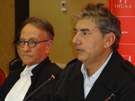 Peter Scarlet y Ralph Haiek