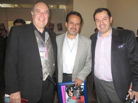 Convergencia 17 D4 José Noriega, Rodolfo Vergara de Fluotec y Andrés Nieto de Claro Sports