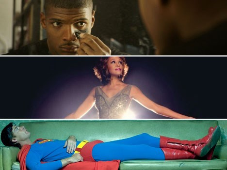 Michael Sam, vendido a NTV (Japón); Remembering Whitney, a Globosat (Brasil) y Confessions of a Superhero, vendido a Sky UK
