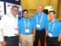 Genband 17 D1 Sanjay Bhalia, Prasanna Vijayakumar, Bill Thompson y Mike Miller