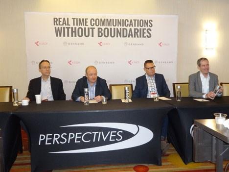 Genband 17 D3 Conferencia de prensa del panel de NFV Live! moderado por Paul Miller, CTO Genband