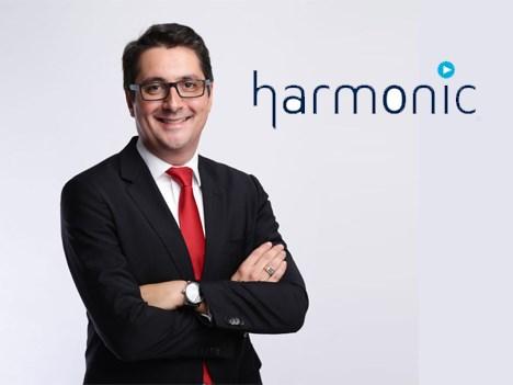 Tony Berthaud, VP de ventas para Asia Pacífico de Harmonic