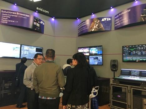 Avid en la Expo Cine, Video y Televisión, de México