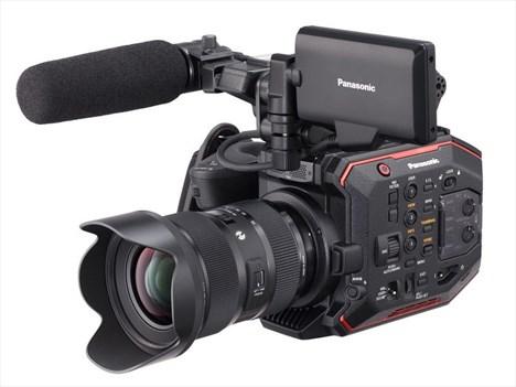 Nueva cámara cinemática compacta AU-EVA1 de Panasonic