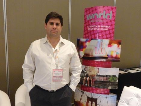 Juan Ignacio Toth, de Discovery, durante la última edición de Asunción Media Show a principios de agosto