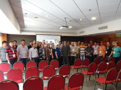 40 operadores del interior asociados a Acip, liderada por Félix Morlas, dijeron presente en Asunción Media Show 2017