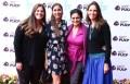 Micaela Eguszquiza y Evelyn Merino Reyna, productoras del film documental, Cecilia Gomez de la Torre (Tonder) y Mariana Tshudi, directora