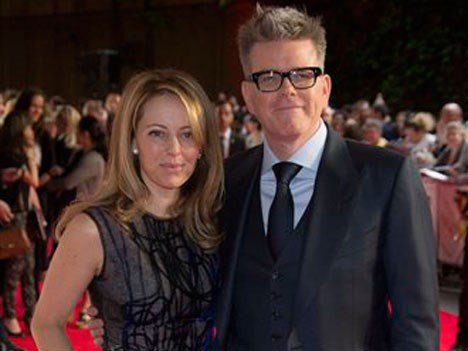 Heather and Christopher McQuarrie