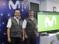 Telefónica guat Raúl Alas, Gerente de Comunicación y RRPP, y Jordi Belles, director Comercial de Telefónica Guatemala