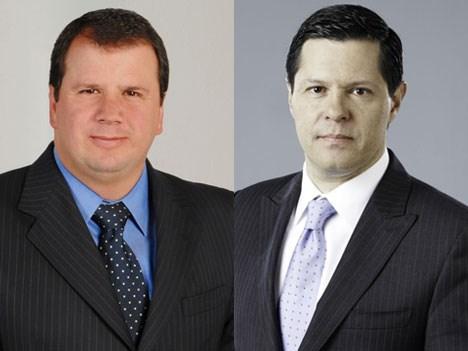 RCN y Caracol Gabriel Reyes y Juan Roberto Vargas