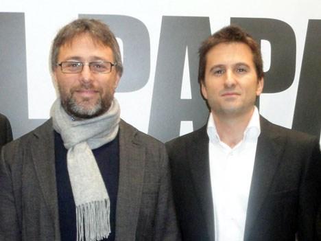 Julián Rousso (Anima Films) y y Miguel Brailovsky (A+E)