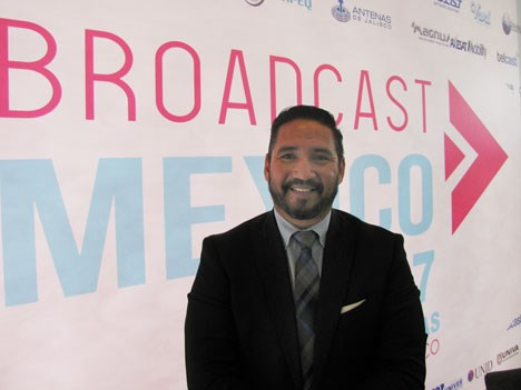 Gildardo Gómez, organizador de Broadcast 2017