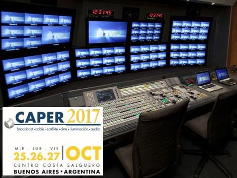Caper 2017: mesa sobre Producción IP en Vivo organizada por SET