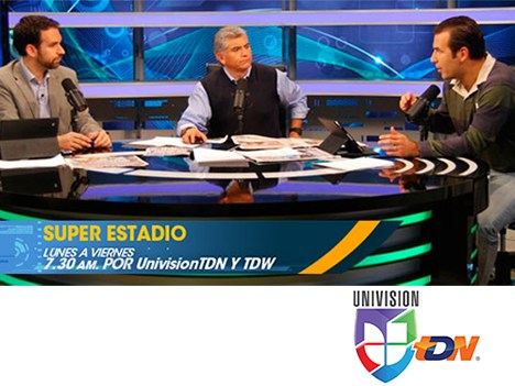 Televisa y Univisión lanzan señal deportiva Univision TDN
