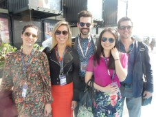 The Sony PlayStation Video acquisitions team, in Cannes: Jamila Bowden, content partnerships & promotions; Suyin Lim, senior director, content acquisi
