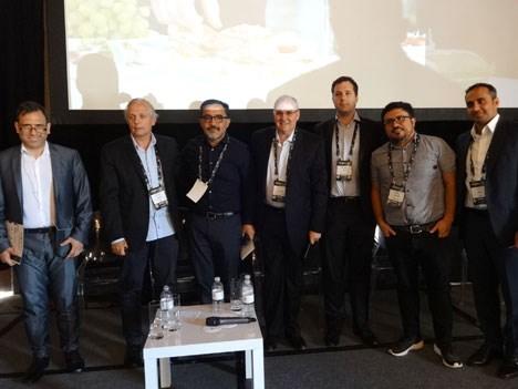 Ariel Barlaro, Daniel Zanardi, Eric Jurgensen, Patricio Hernández, Luis Ahumada, Luis Ahumada, Rohit Mahra y Sergio Silva