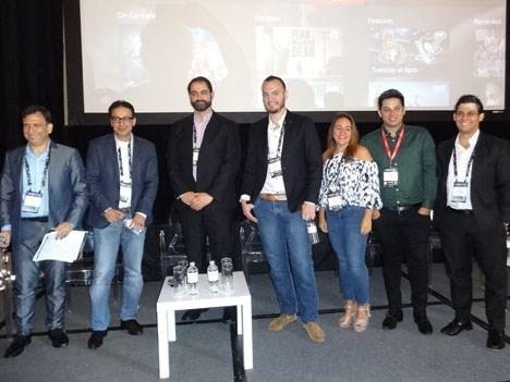 Ariel Barlaro, Alok Gera, Breno Fleury, Rodrigo Violante, Ely García, Mauro Peluso y Raúl Domínguez