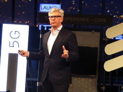 Borje Ekholm, CEO de Ericsson