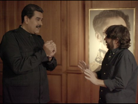 Nicolás Maduro con Jordi Évole, para Salvados