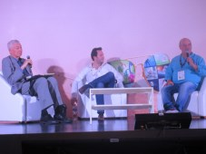 """Panel """"Coproducción: Perspectivas desde #Colombia"""": Alejandro Toro, production business development de Caracol TV, y Fernando Gaitán, productor de RCN"""