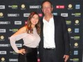Verónica Naguila, directora de AdSales para Argentina, y Héctor Costa, SVP de ventas publicitarias para Latinoamérica en AMC Networks