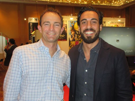 Netflix in Singapore: Andy Yeatman, director of kids content, and Aram Yacoubian, manager content acquisitions, kids & family