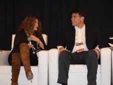 Sofía Higuera, SVP y General Manager Cono Norte de Fox, y Gustavo Grossman, CVP of Networks de HBO