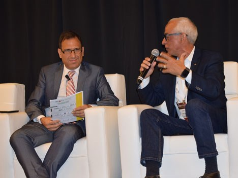 Ariel Barlaro, VP para Latinoamérica de Dataxis, y Jossi Fresco Benaim, Regional Director Latin America de Verizon Digital Media Services