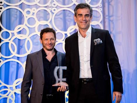 Tomás Darcyl y Ricardo Costianovsky, fundadores y Co-CEOs de Diamond Films en ShowEast