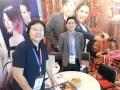 Roxanne Barcelona, VP, y Manuel Paolo Laurena, gerente senior de ventas en ATF 2017 (crédito: VideoAge International)