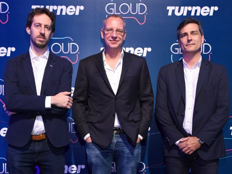 Lionel Zajdweber, Director de Gaming & Innovation, Digital Ventures & Innovation, Aksel van der Wal y Felipe de Stefani