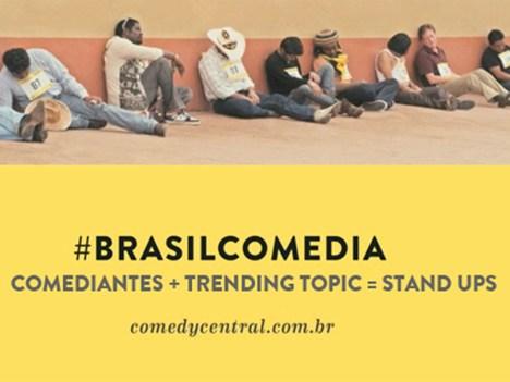 La campaña incluye el lanzamiento de los hashtags en Twitter #ContinenteComedia para LatAm y #BrasilComedia para Brasil