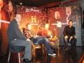 César Coletti, Corey y Rick Harrison, y Miguel Brailovsky
