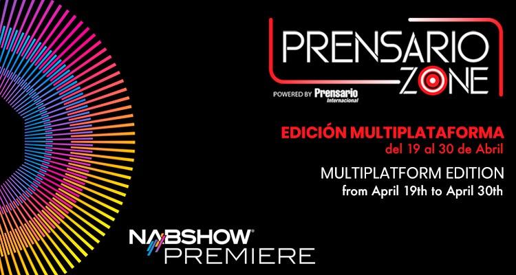 Prensario Zone lanza edición para el NAB Premiere, en alianza con Dataxis