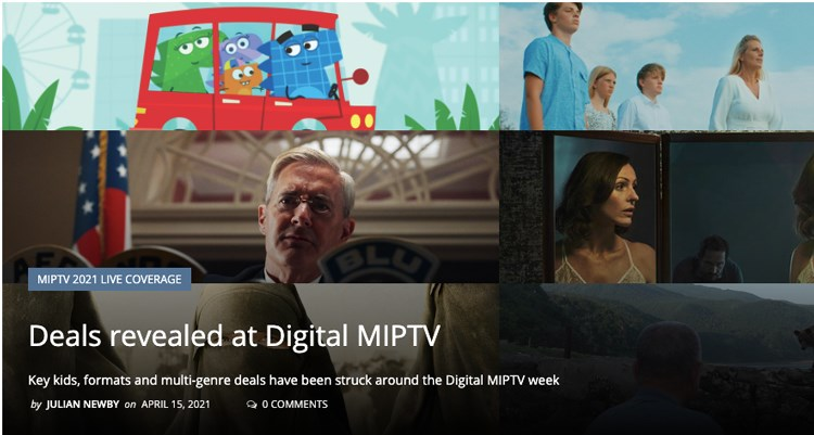 Reed Midem stressed that during Digital MIPTV, many deals through regions and genres, have been made