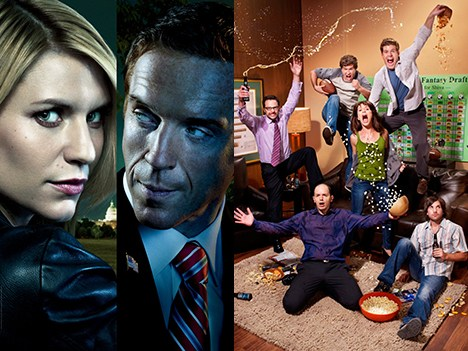 Homeland y The League