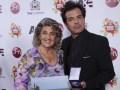 Virginia Reginato, alcaldesa de Viña del Mar, y César Sabroso, SVP de mercadeo de A&E Ole Networks