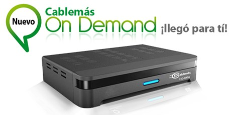 México: Cablemás lanzó Video On Demand