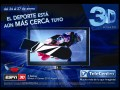 Argentina: ESPN 3D, disponible en Telecentro