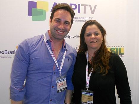 Beto Ribeiro y Carla Albuquerque