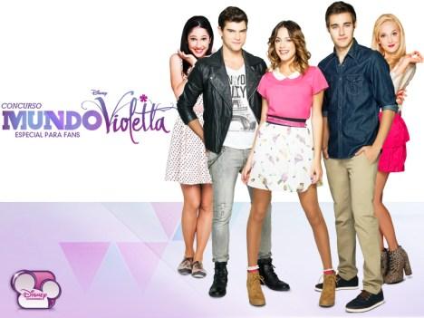 Disney lanza concurso para fans de Violetta